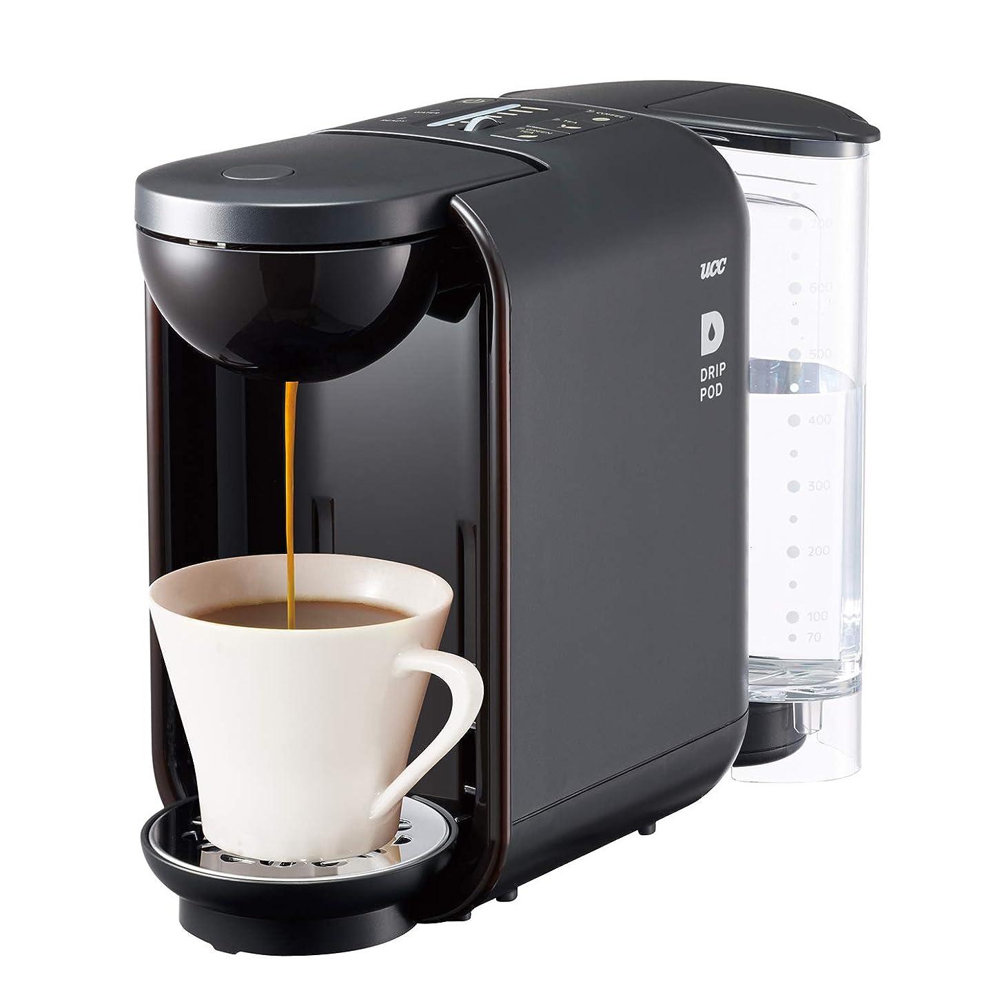 UCC コーヒーメーカー [ドリップポッド] 本格 ドリップコーヒー カプセル式 (ブラック) DP2(K)