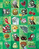 Plants vs Zombies - Characters Computer Spiel Mini Poster
