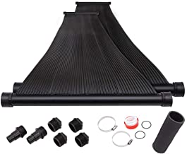 SunQuest 2-2'X10' Solar Swimming Pool Heater with Couplers-Max-Flow