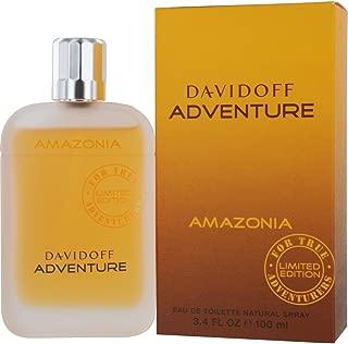 Davidoff Adventure Amazonia By Zino Davidoff For Men. Eau De Toilette Spray Limited Edition, 3.4 Oz / 100 Ml