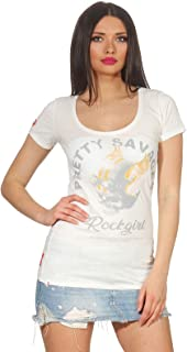 YAKUZA PREMIUM Damen T-Shirt GS-2636 Natur Weiß