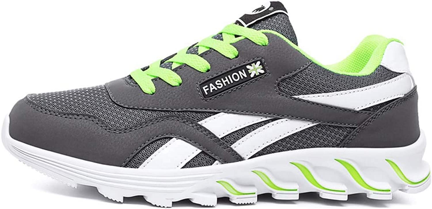 MSSugar Men Casual Sports shoes Air Trainers Fitness Breathable Flats Running Athletic Competition Sneakers