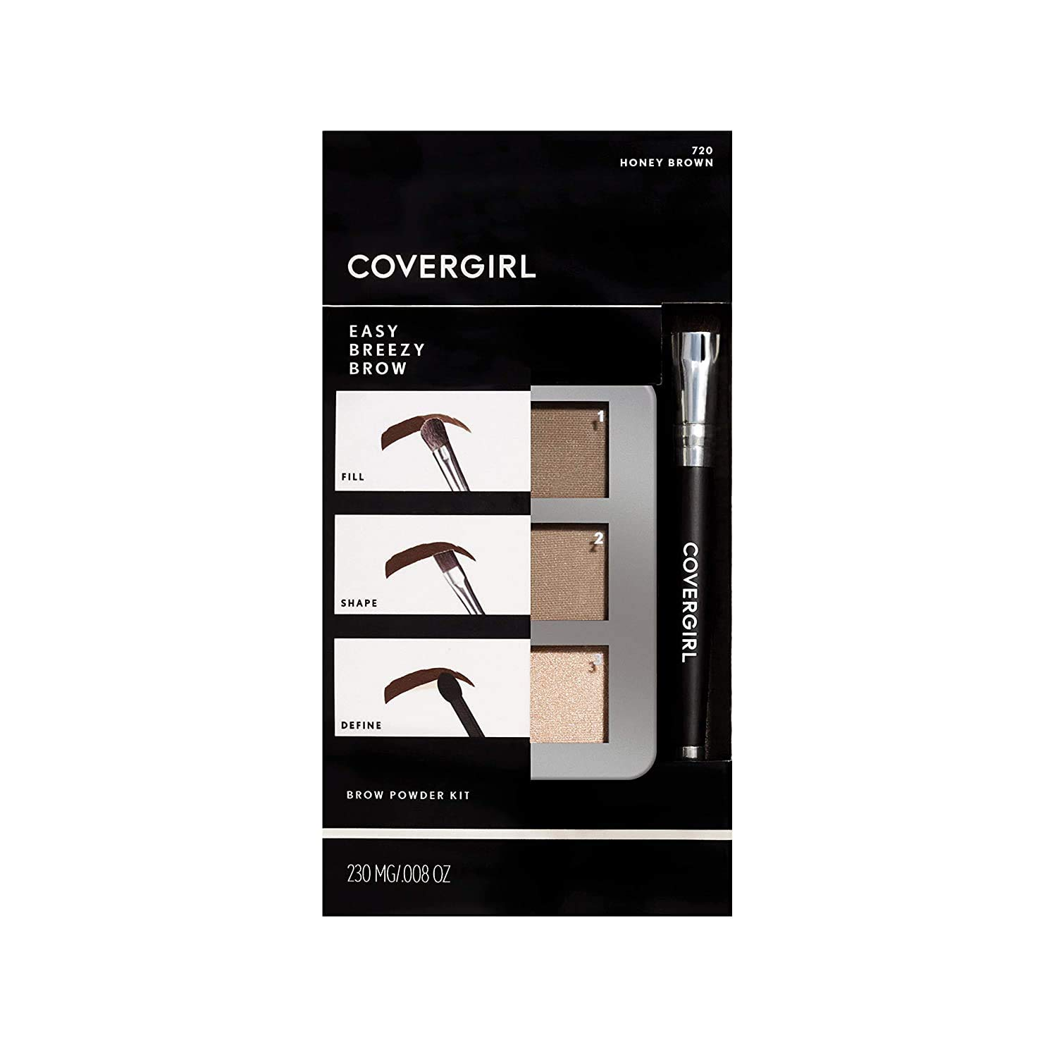 COVERGIRL Easy Breezy Dedication Brow Powder Blonde Soft packaging Kit Large-scale sale ma