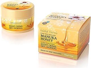 Wild Ferns Premium New Zealand Manuka Honey Night Cream Dry to Normal Skin