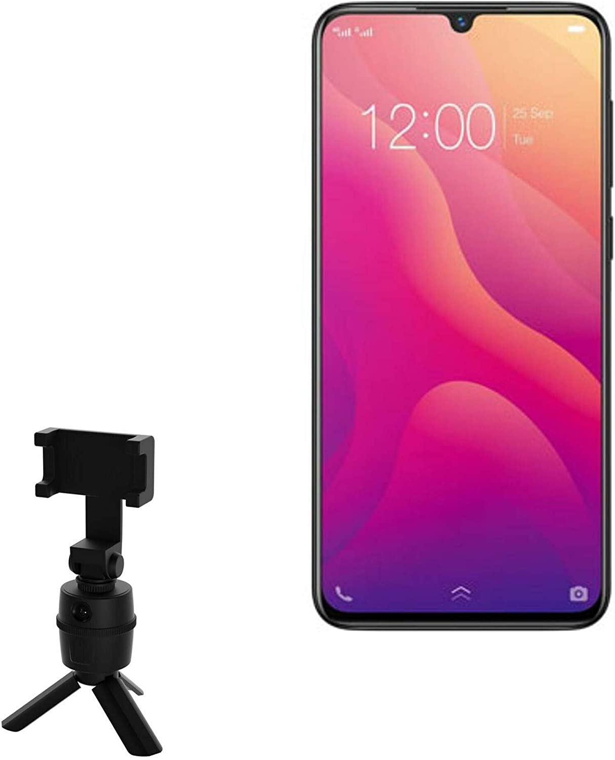 vivo V11 Stand and Max 79% OFF Mount Excellent Faci BoxWave PivotTrack Selfie