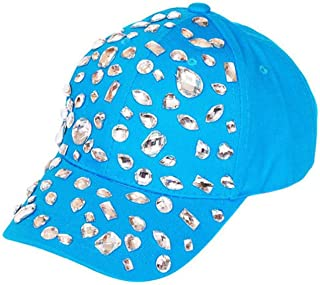 Studded Bejeweled Baseball Cap