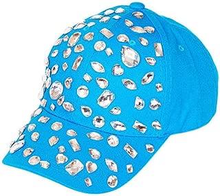 Studded Bejeweled Baseball Cap