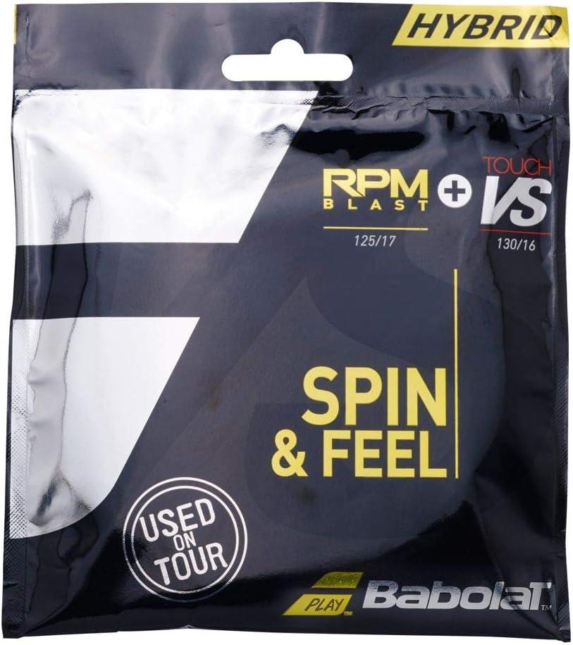 Babolat RPM 17G Nippon regular agency Denver Mall + VS Touch 16G String Tennis