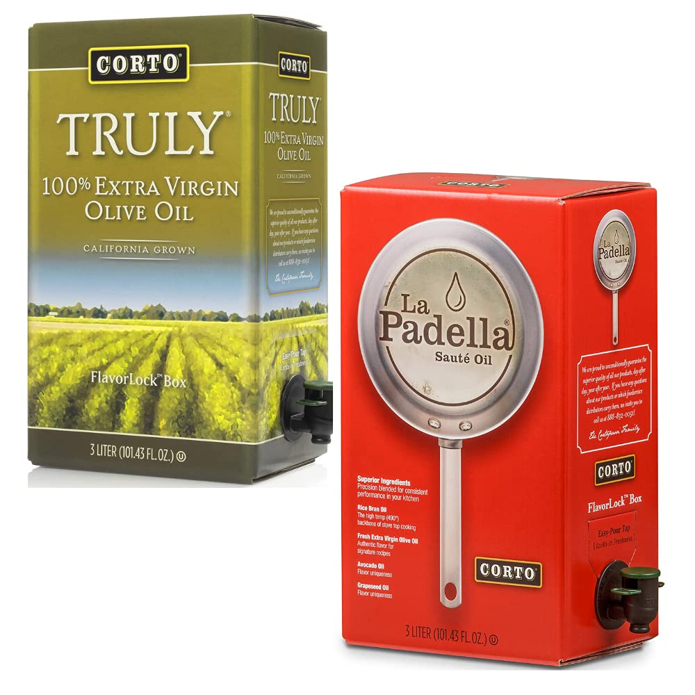 Corto Our shop most popular TRULY® La Padella® Chef 100% Limited time trial price Extra Virg Bundle