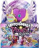 Hatchimal Pixies Riders – Lila Luna Pixie y Swanling Planeador Set con función misteriosa