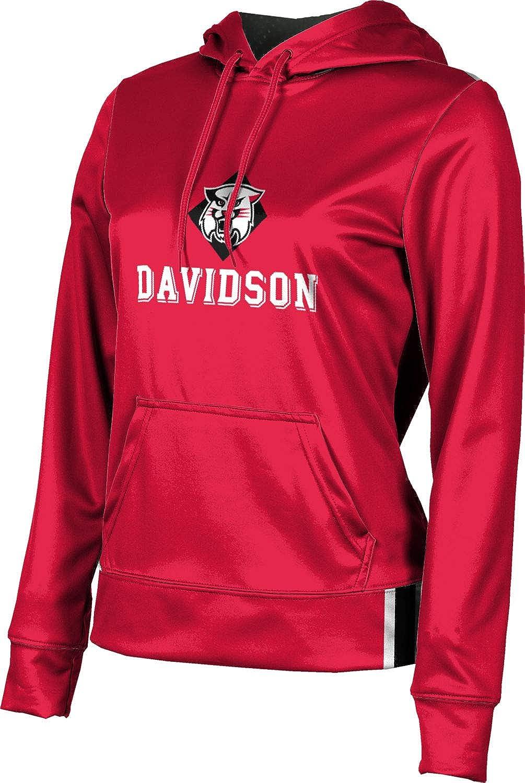 ProSphere Davidson College Girls' Pullover Hoodie, School Spirit Sweatshirt (Solid)