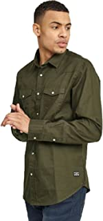 BRAVE SOUL Mens Diablo Long Sleeve Shirt