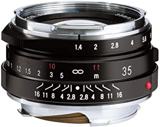 Voigtlander Nokton 35mm f/1.4 II Single Coated Leica M Mount Lens - Black