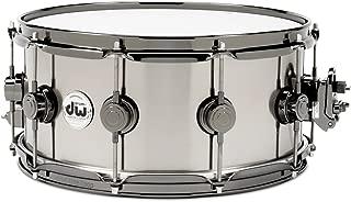 DW Black-Ti Snare Drum 14 x 5.5 in. Black Nickel Hardware
