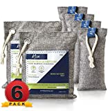 10. Nature Fresh Air Purifier Bags - Activated Charcoal Bags Odor Absorber, Odor Eliminator for House, Shoe Deodorizer, Car Deodorizers, Closet Air Fresheners for Home, Room Deodorizer for Home, Shoe Odor