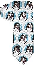 Cravatta Divertente Cravatte Divertente Bernese Mountain Dog Faccia Moda Ampia novità Cravatte da uomo Teen
