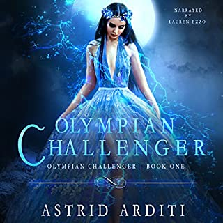 Olympian Challenger audiobook cover art