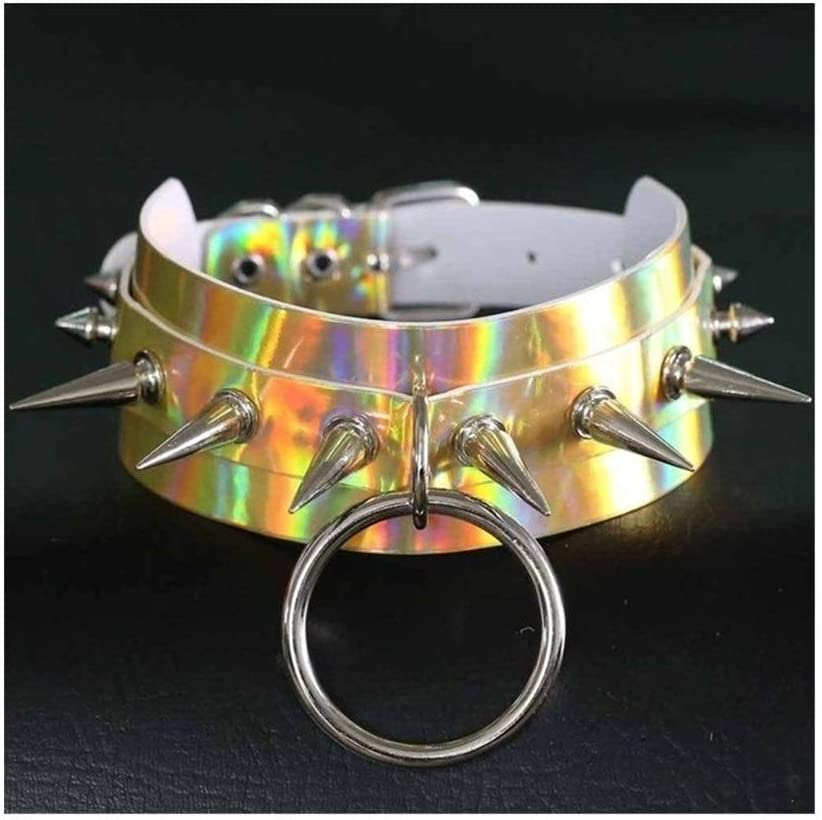 SHOYY Punk Collar Necklace Manufacturer OFFicial Popular shop is the lowest price challenge shop Oversized Metal Party Harajuku Club
