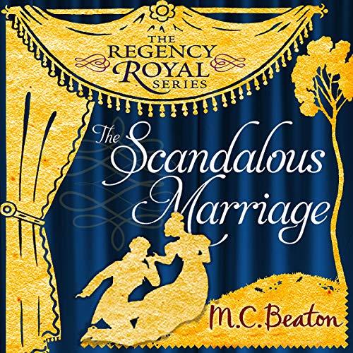 Couverture de The Scandalous Marriage