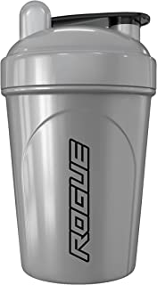 Rogue Energy Shaker Bottle, 16-Ounce, 500ml, BPA Free, Dishwasher Safe, Silver (Sentinel Edition)