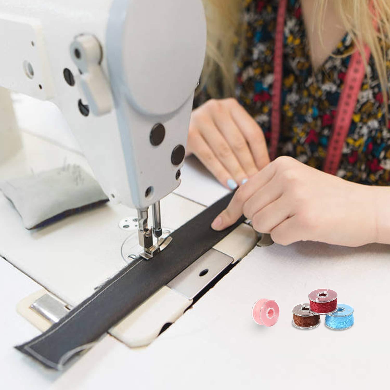 Tosenpo bobinas para máquina de coser con funda para máquina de ...