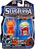 Slugterra SERIES 3 Mini Figure 2-Pack Burpy V2 & Stunts [Includes Code for Exclusive Game Items] by Slugterra Toys, Games & Dart Mini Action Figures