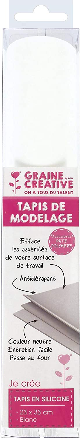 Graine Créative Modeling Phoenix Mall mat for Polymer x 23 New color cm Clay 33