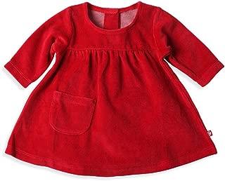 Baby Girls' Velour Little Pocket Dress