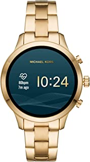 Michael Kors Women's Quartz Smartwatch smart Display and Stainless Steel Strap, MKT5045