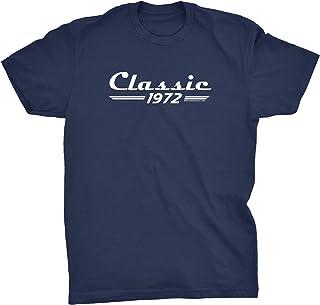 49th Birthday Shirt for Men - Classic 1972 Retro