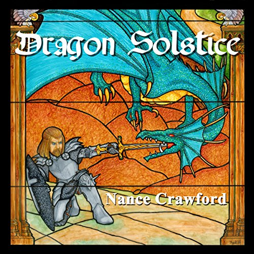 Dragon Solstice audiobook cover art