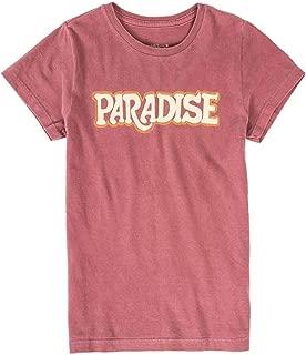 T-Shirt Estampada Infantil Feminino Vinho