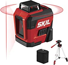 SKIL 65ft. 360° Red Self-Leveling Cross Line Laser Level with Horizontal and Vertical..