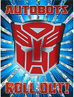 Transformers Party Invitations | Pack of 8 | Party Supply