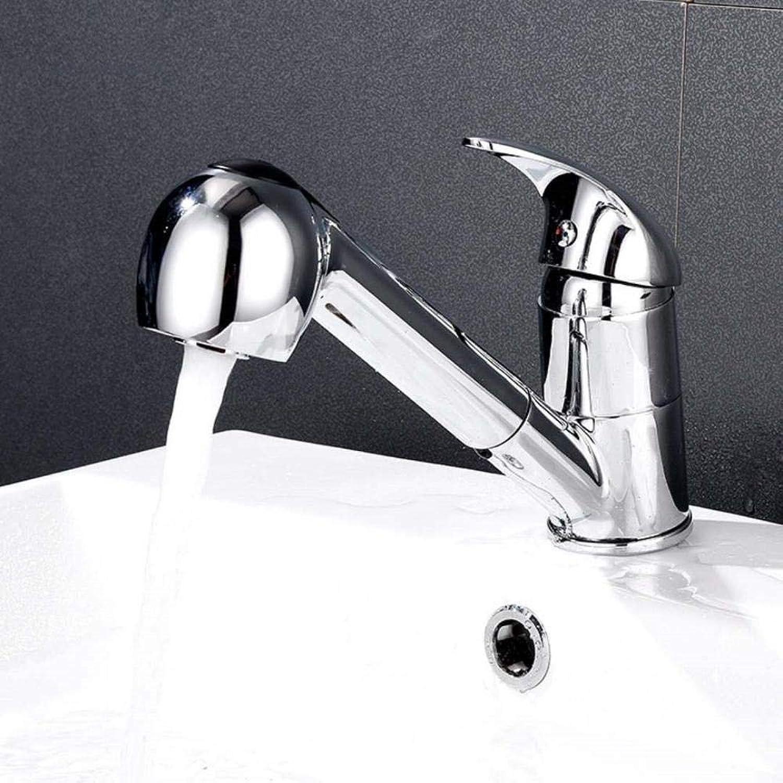 HONGHUIYU Tippen Sie auf die Küche und ziehen Sie den Wasserhahn heraus