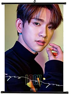 Youyouchard Kpop GOT7 Eyes On You/7 For7 Album Wall Scroll Poster GOT7 Official Postcard GOT7 Poster, Decorate Your Room(07)