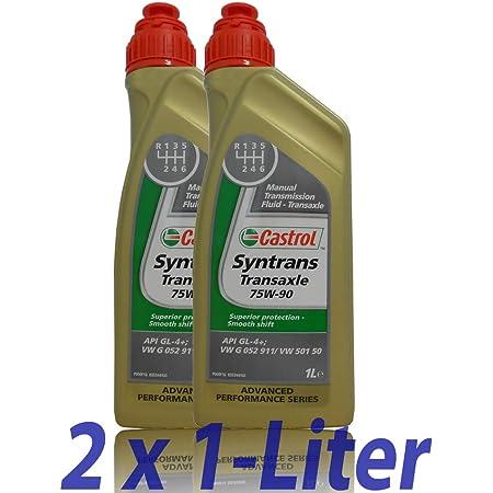 Mannol 2 X 1l Basic Plus 75w 90 Api Gl 4 Fully Synthetic Manual Transmission Axle Oil Auto