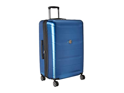 Delsey Comete 2.0 28 Expandable Spinner Upright (Steel Blue) Luggage