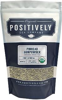 Positively Tea Company, Organic Pinhead Gunpowder, Green Tea, Loose Leaf, 16 oz. bag