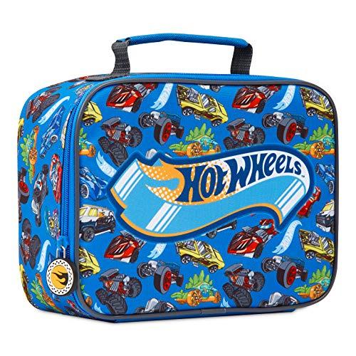 Hot Wheels Borsa Termica, Porta Pranzo Per Bambini, Lunch Box Per Scuola, Viaggi, Picnic