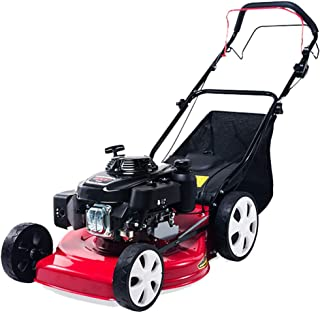 XUHUIXZI Worth Having Electric Lawn Mower, 23.6-Inch Lawn Mower, 8 Adjustable Mowing Heights, 3 Operation Heights, Foldabl...