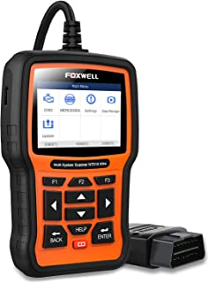 FOXWELL NT510 Elite for Mercedes Benz Full System Bi-Directional Scan Tool ABS Bleeding TPMS DPF Oil Reset OBD2 Car Diagnostic Scanner(NT510 Enhanced 2019 Version)