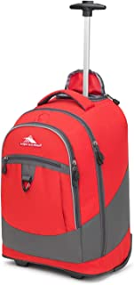 High Sierra Unisex Chaser Wheeled Laptop Backpack, fits17-inch Laptop Backpack