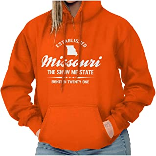 Missouri The Show Me State Athletic MO Gift Hoodie