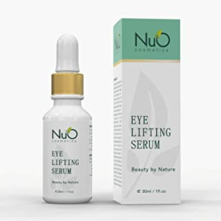 NuOrganic Age Defying Eye Lifting Serum with Hyaluronic Acid | Plant Based Stem Cells | Active Peptides | Protects & Revives Under Eye Area & Gives it a Youthful Look ● 1oz