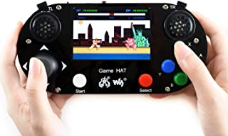 Waveshare Game HAT for Raspberry Pi with 3.5Inch IPS Screen Portable Game Console Embedded Onboard Speaker and Earphone Ja...