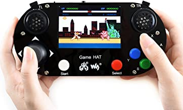 Waveshare Game Hat for Raspberry Pi A+/B+/2B/3B/3B+ 3.5inch IPS Screen 480 * 320 Resolution 60 Frame Experience Make Your Own Game Console