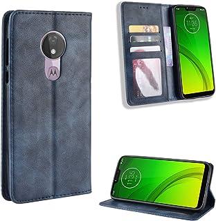 LODROC Lederen Portemonnee Case voor Moto G7 Power, [Kickstand Feature] Luxe PU Lederen Portemonnee Case Flip Folio Cover ...