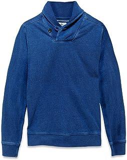 Timberland Mens Sweatshirt Halls Stream Shawl Blue