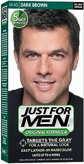 Just for Men Just for Men Original Formula Men's Hair Color, Dark Brown (pack Of 3), 3 Count
